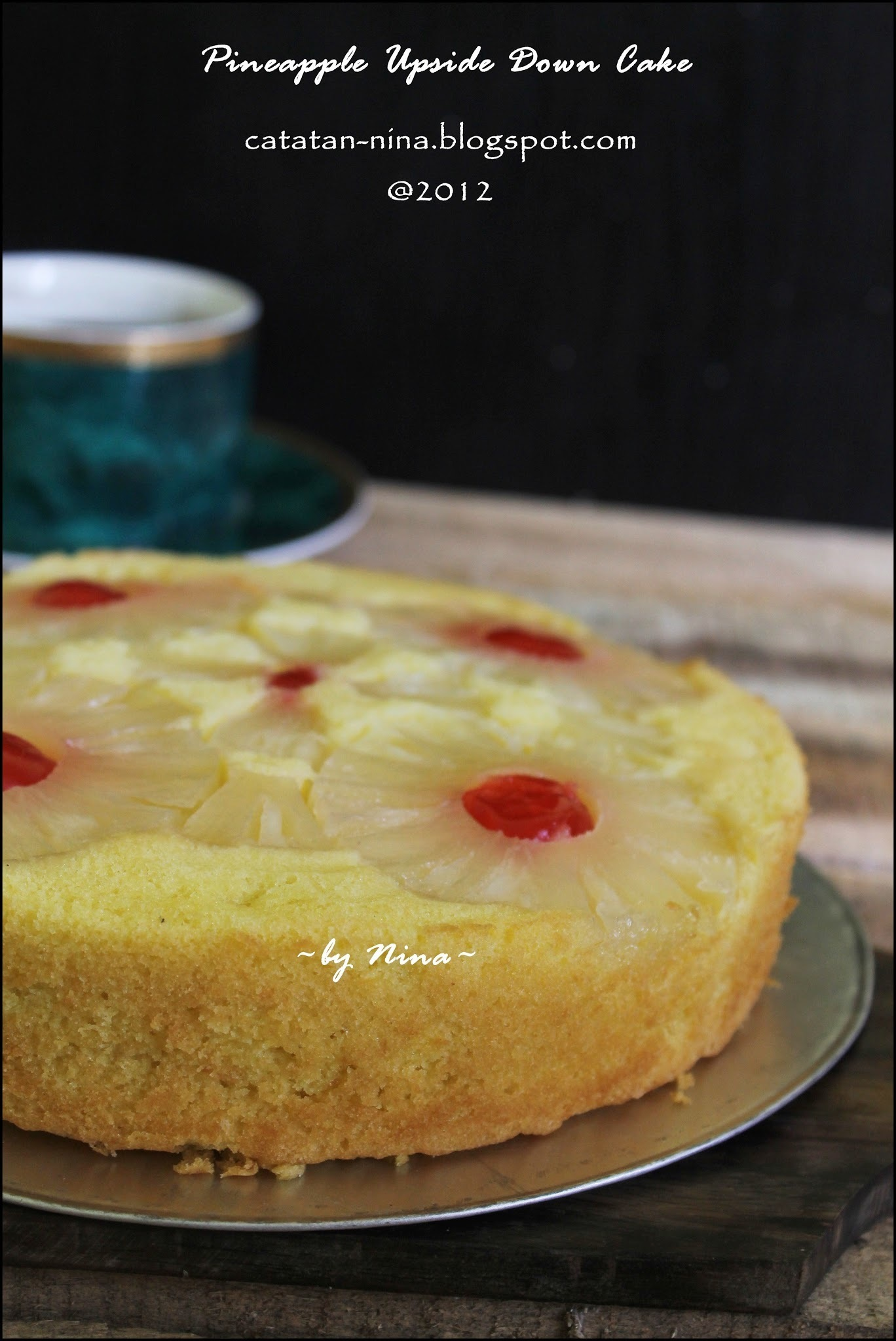 Finally....PINEAPPLE UPSIDE DOWN CAKE