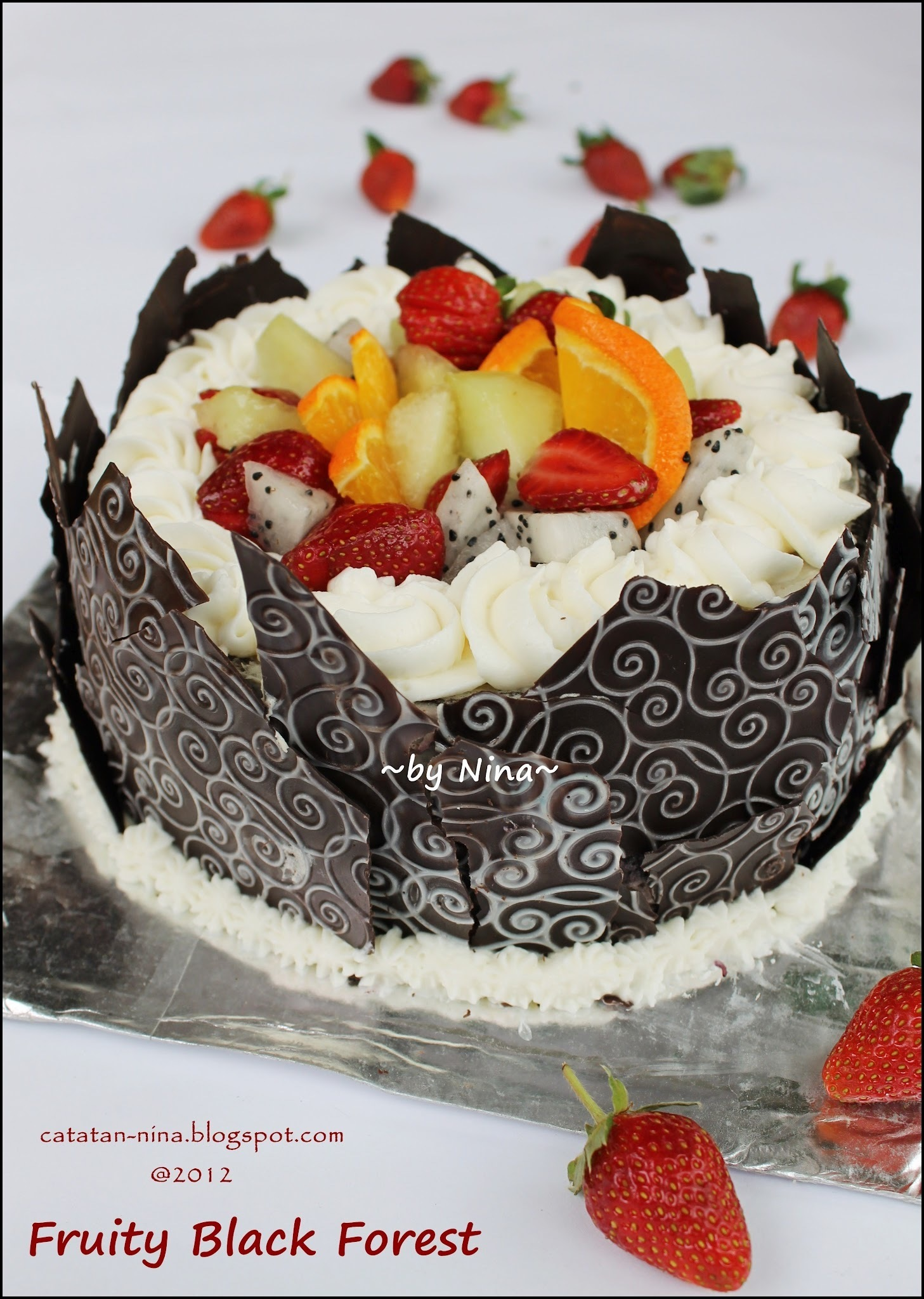 FRUITY BLACK FOREST FOR US :)