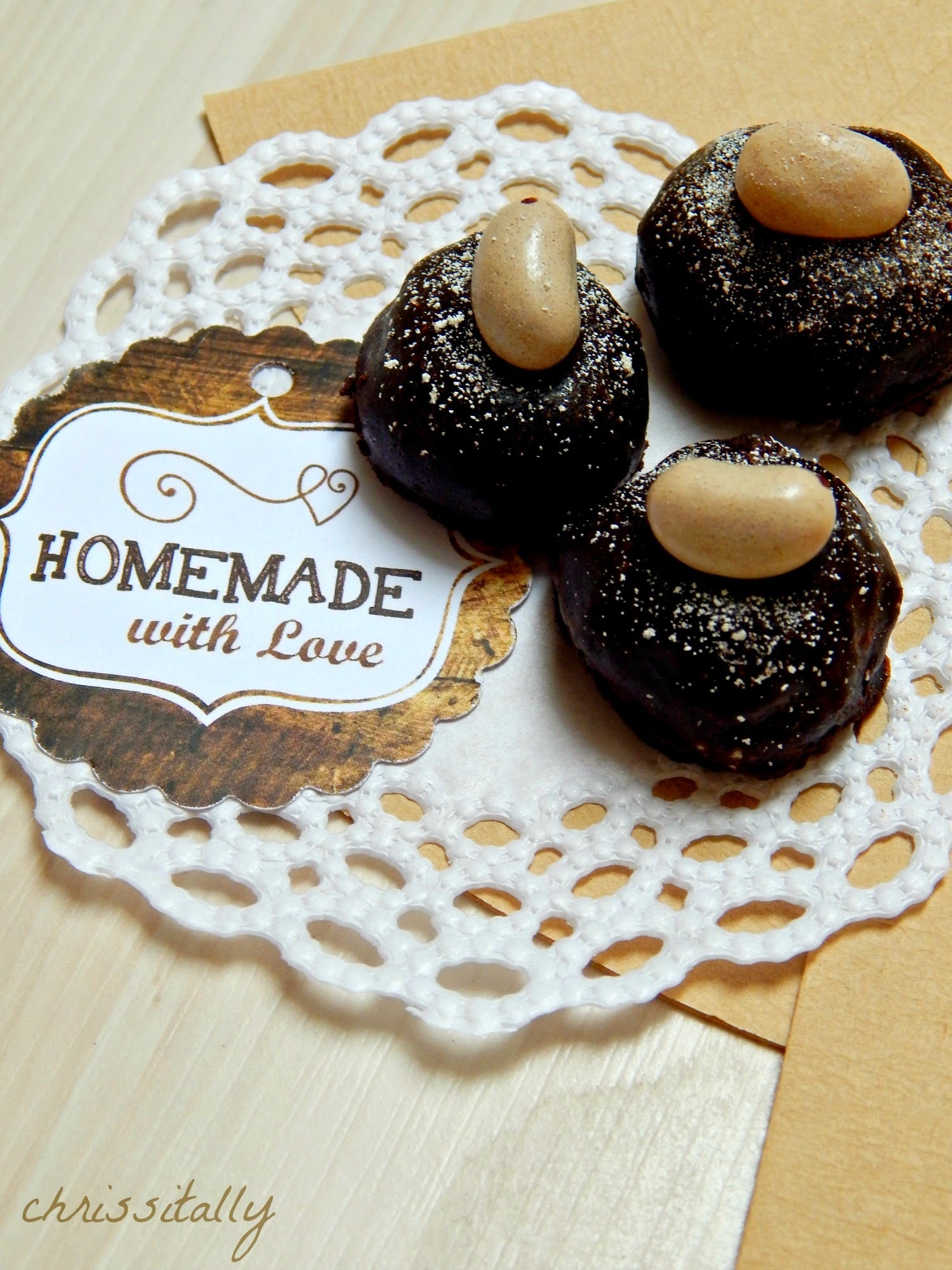 Cookie-Coffee Truffles / Kaffee-Keks Pralinen