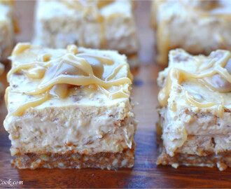Butter Pecan Cheesecake Squares