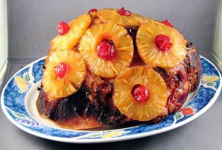 Brown Sugar and Pineapple Glaze Ham - Best Ham Recipes