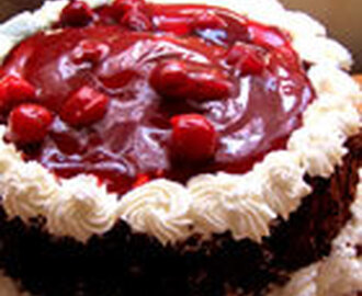 Making Black Forest Cake : Recipe