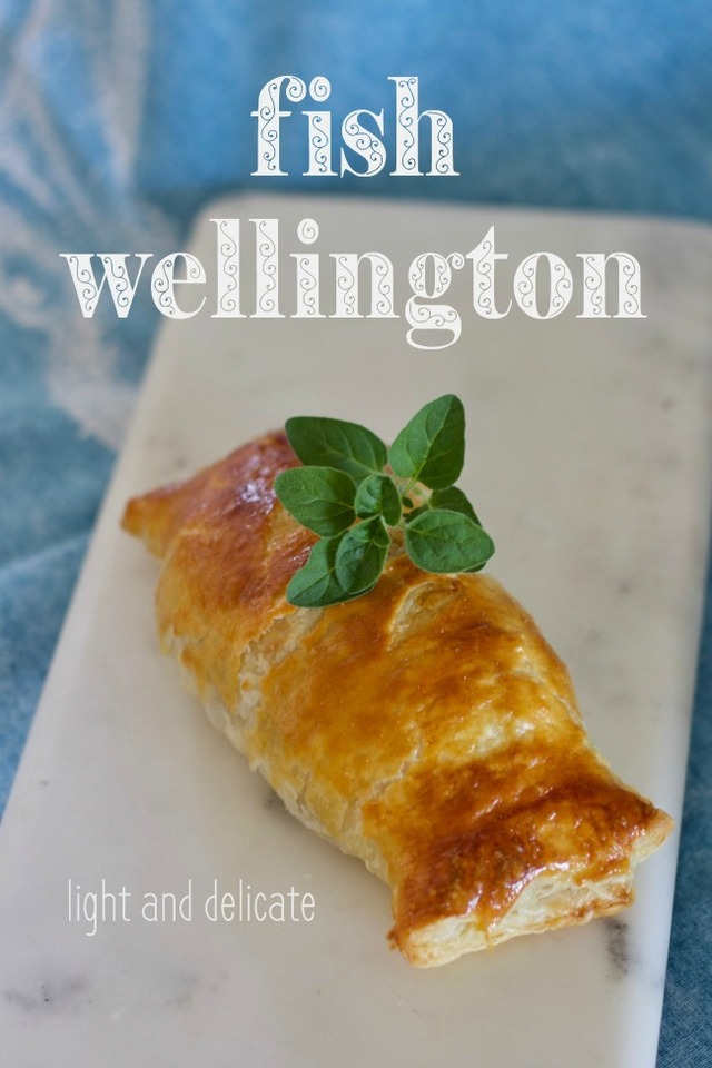 fish wellington – a dinner party hit!