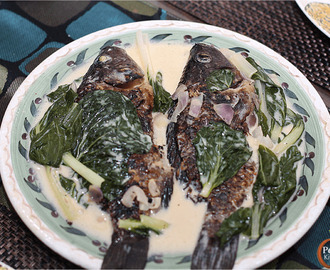 Sinugno (Grilled Tilapia in Coconut Milk)