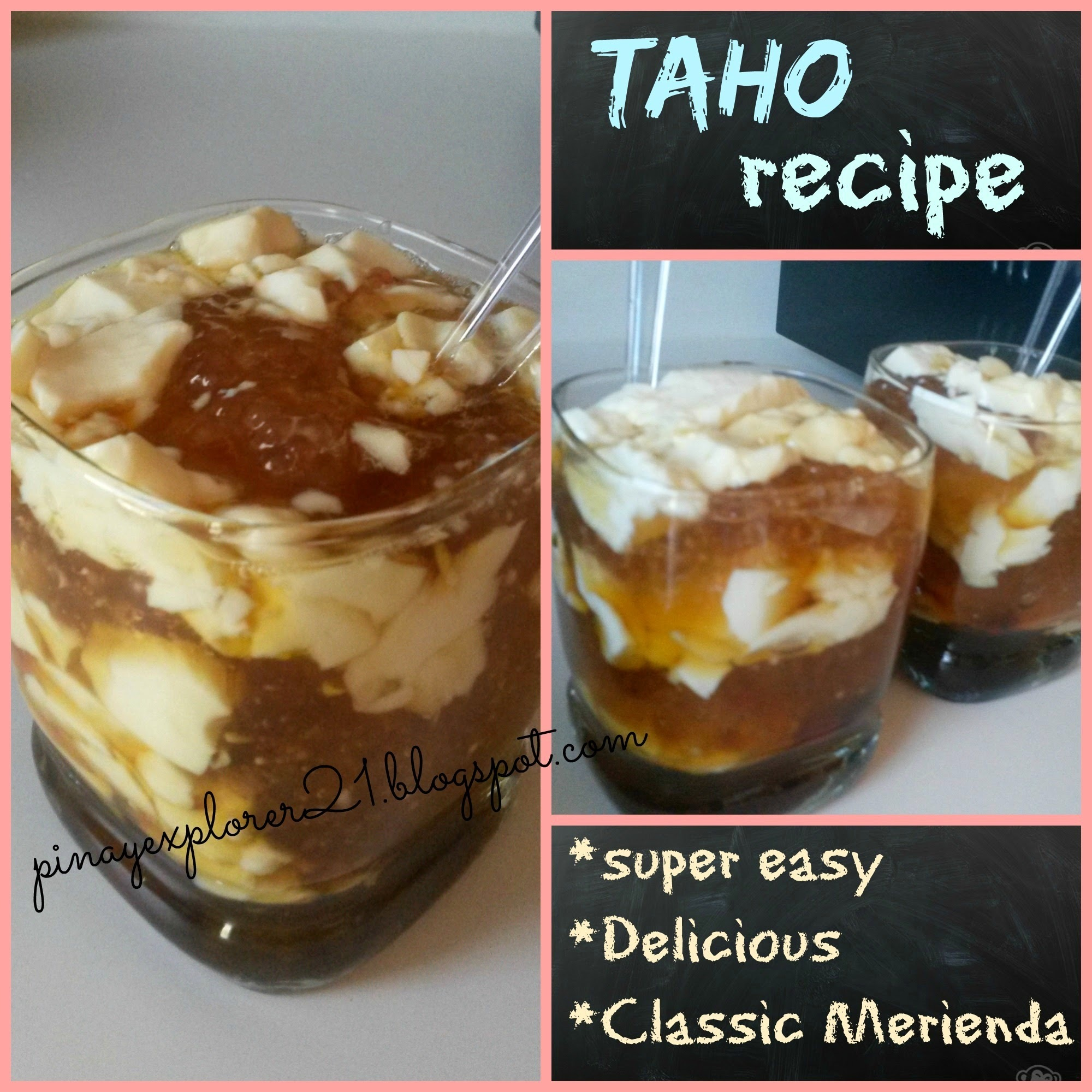 Easy Taho Recipe