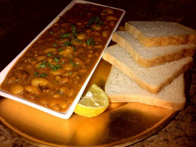 3 BEAN CURRY.