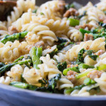Pasta with Broccoli Rabe and Italian Sausage