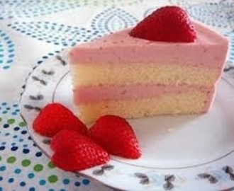 Resep Soft Cake Strawberry
