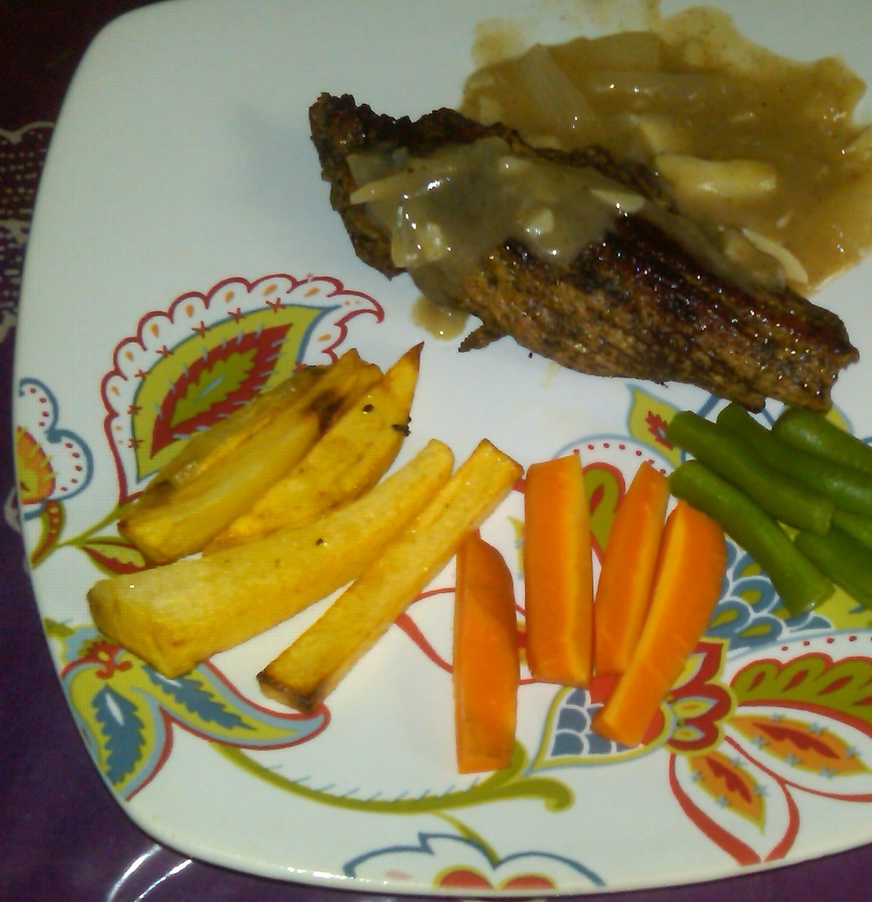 Resep Steak Daging Sapi Lada Hitam