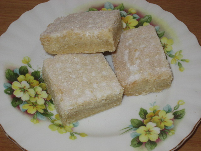 Traditional shortbread with unconventional twist in method