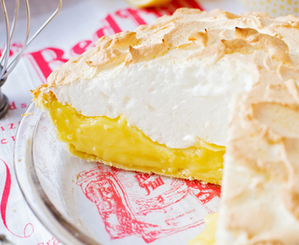 Lemon Meringue Pie #BRMHolidays