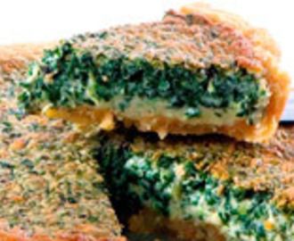 Rich Spinach Cheesecake<br><span style='font-size: 18px;'>Decadent! </span>
