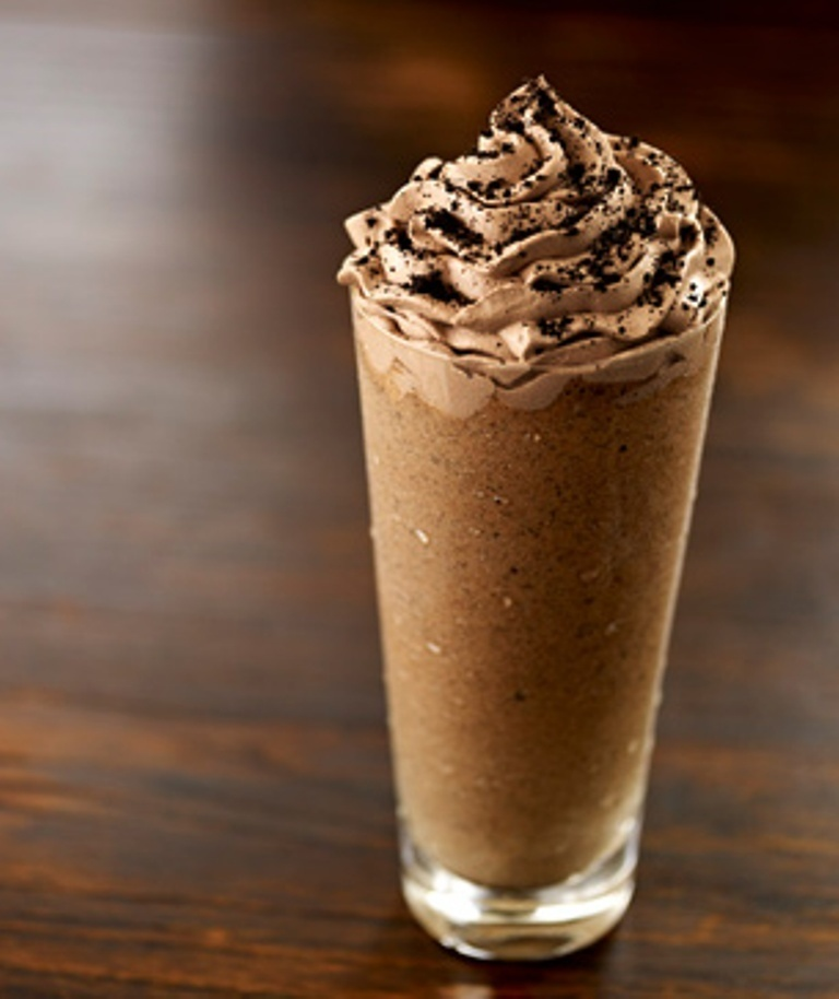 Oreo Cookies Ice Blended Coffee #CoffeeWorld