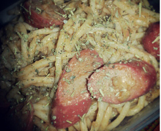 Combi of Italian and Filipino Pasta with Herbs