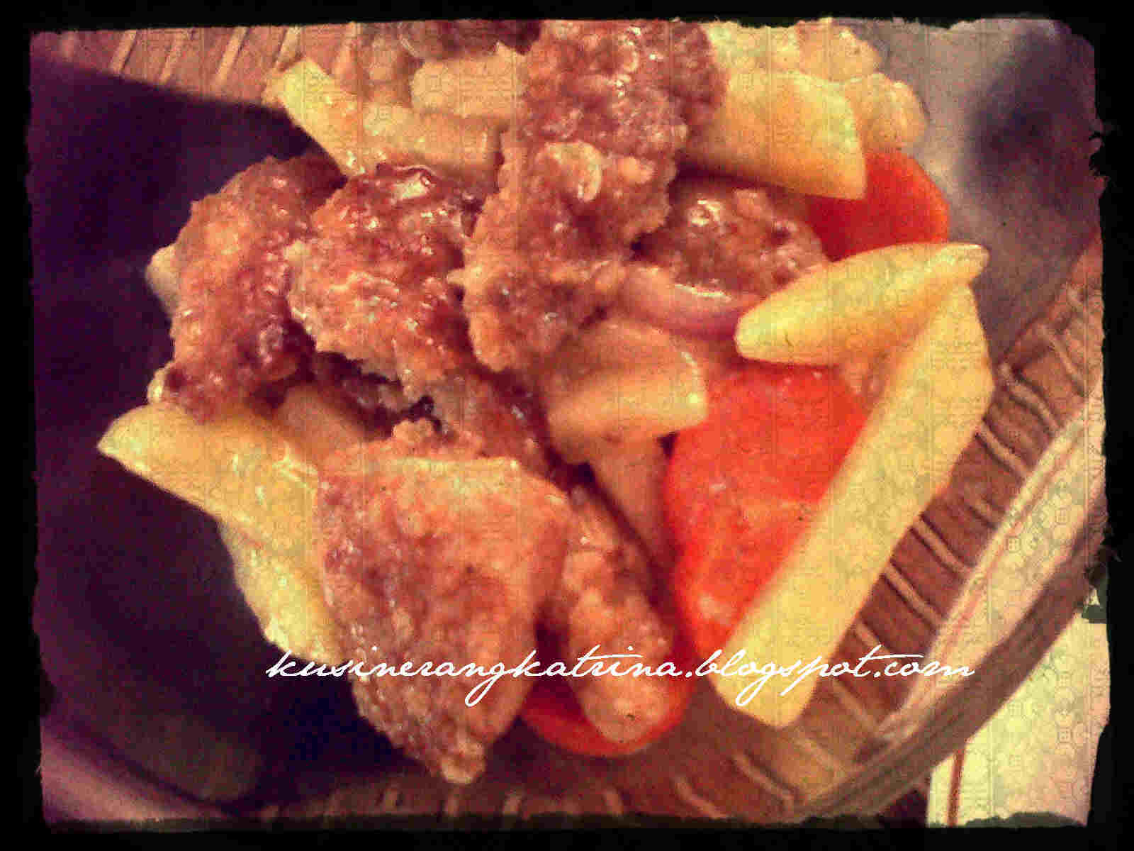 Pineapple Chicken with Carrots and Potatoes