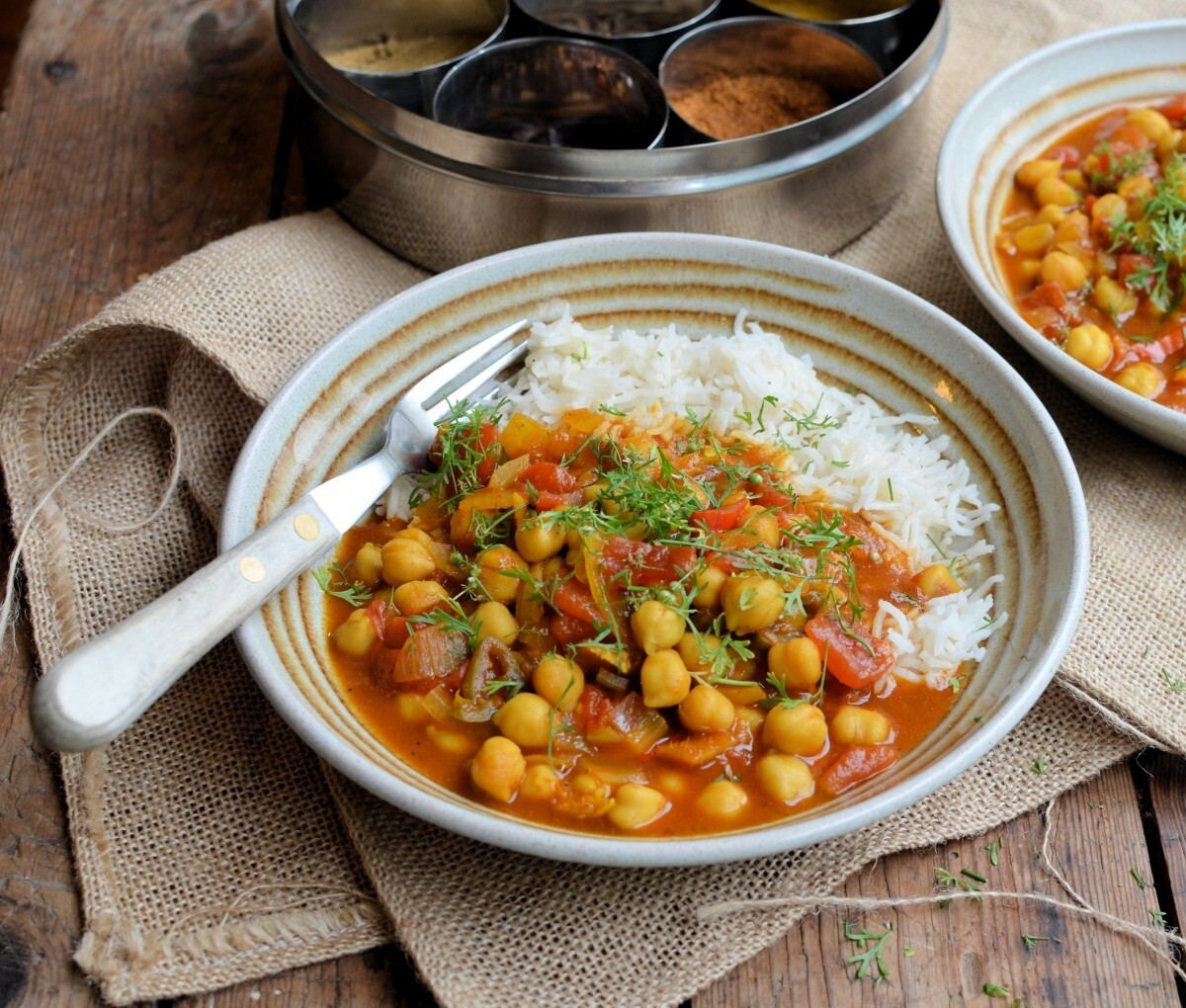 A Secret Recipe for Meat-Free Monday: Chole Chaat (Chickpea Curry)