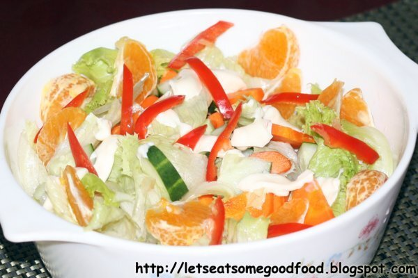 Comfy Homemade Vegetable Salad Recipe