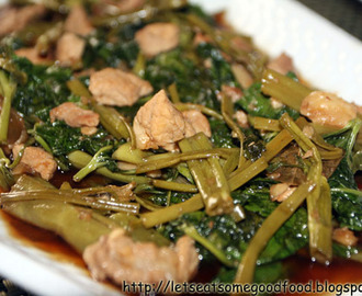 Adobong Kangkong (Water Spinach Adobo) Recipe