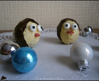 Cake pop pinguins