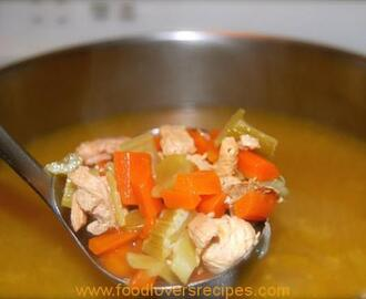 15 MIN QUICK AND EASY CHICKEN NOODLE SOUP
