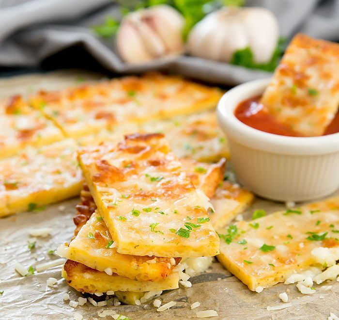 3 Ingredient Flourless Cheese Breadsticks