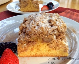 GF/DF Crumble Coffee Cake