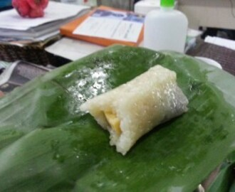 Suman with Leche Flan & Ube Recipe