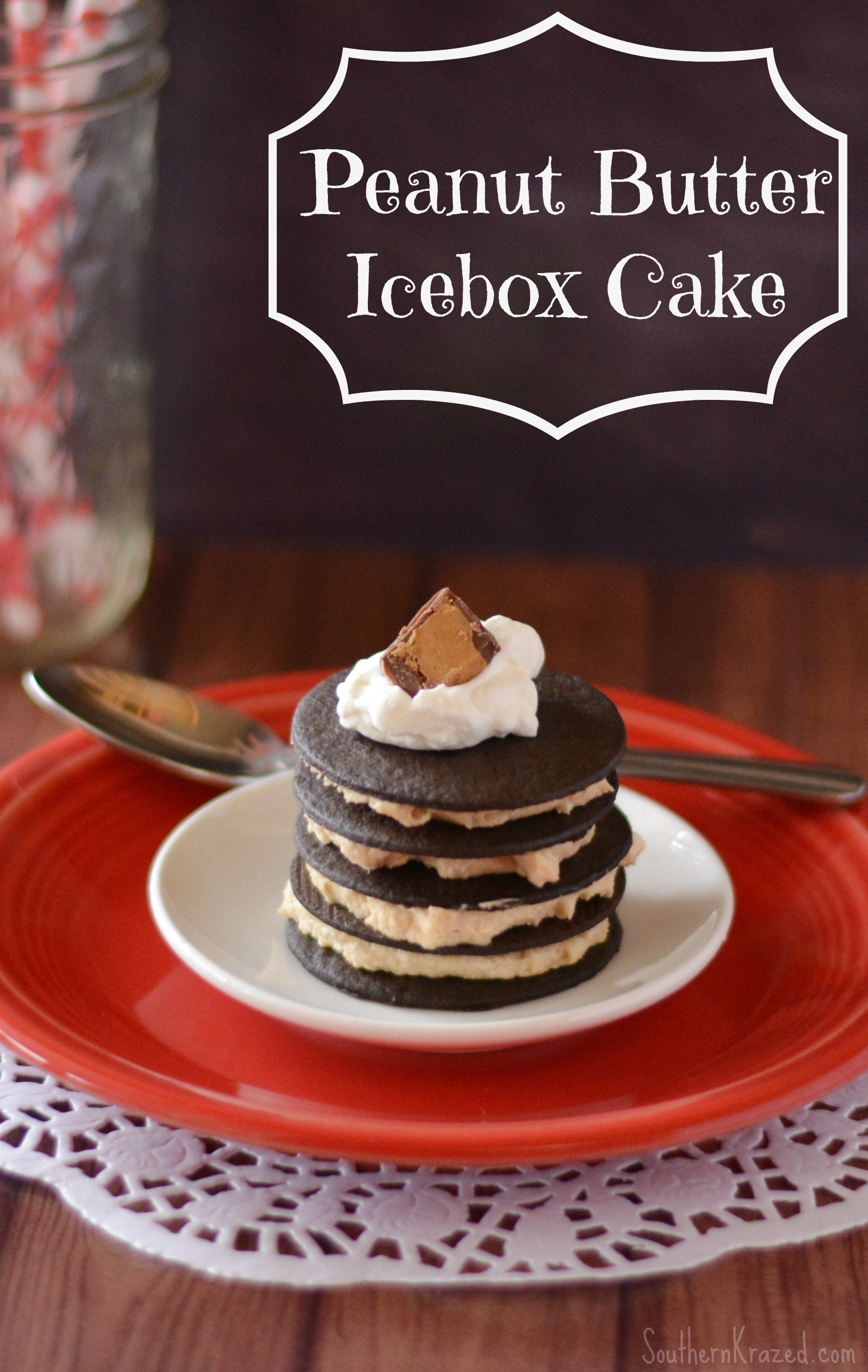 Easy Peanut Butter Icebox Cake Recipe
