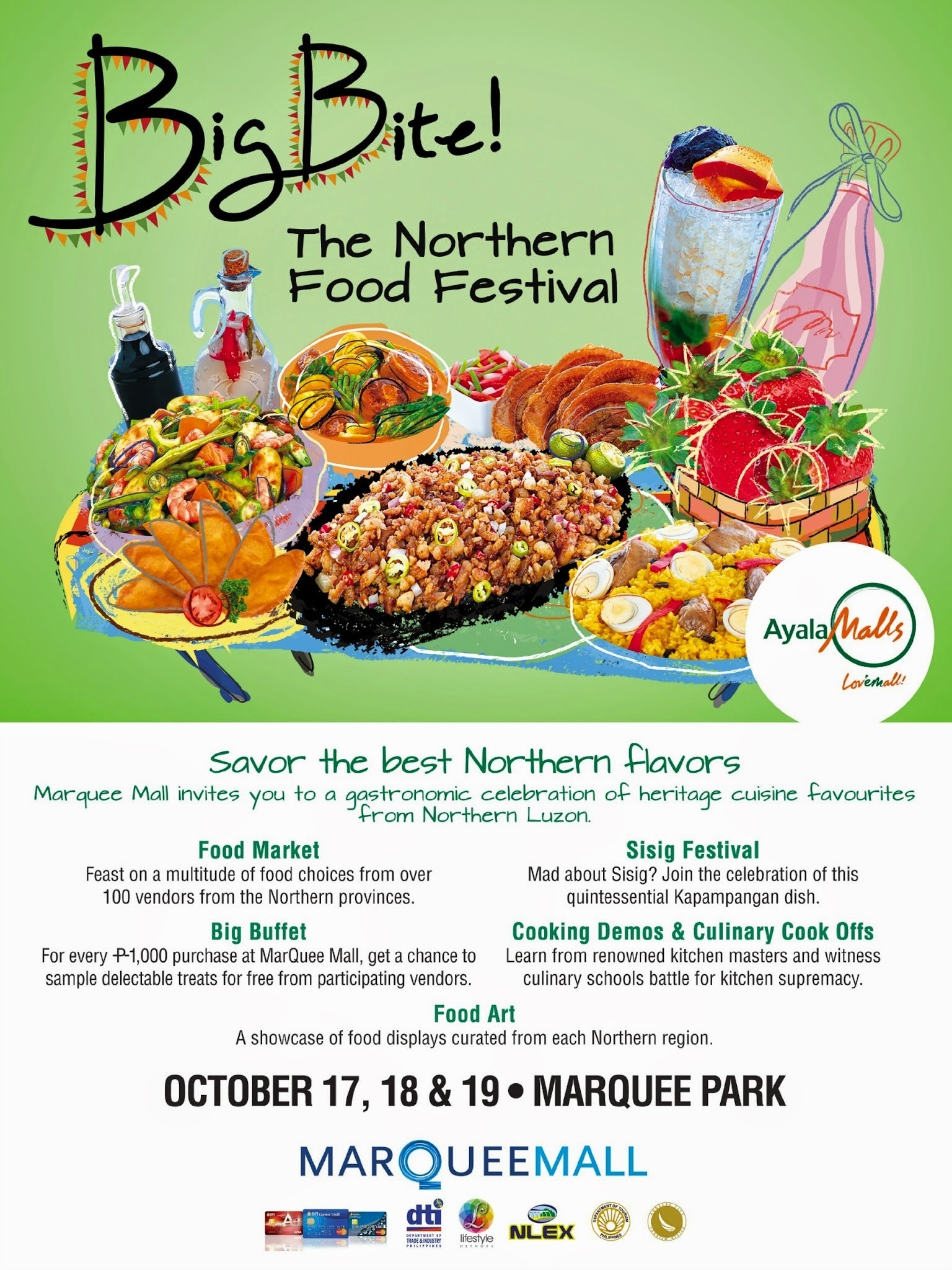 Mouthwatering Festivities at Marquee Mall's  Big Bite! The Northern Food Festival