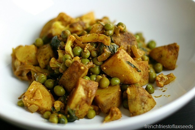 Potato, Pea, and Cauliflower Curry