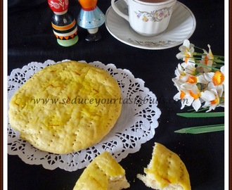 Sheermal / Shirmal (Saffron Flavoured Flatbread) :We Knead To Bake #22
