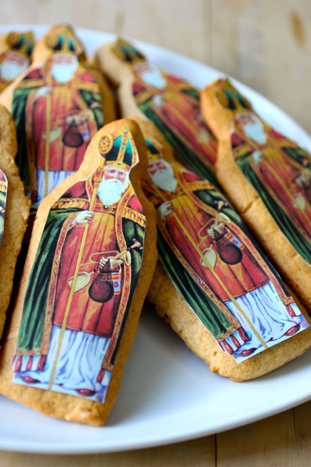 France: Saint Nicholas Gingerbread Cookies