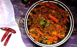 Vegetable Kolhapuri recipe