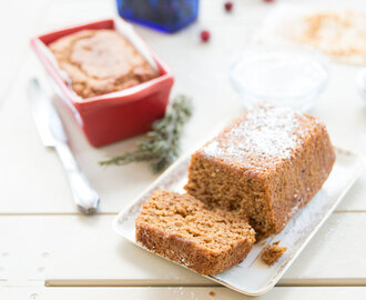 Mini Gingerbread Loaves {vegan}