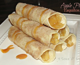 Sous Chef Sunday: Apple Pie Taquitos