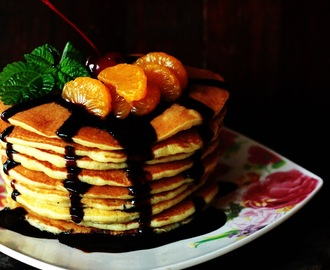 BUTTERMILK FLUFFY PANCAKE