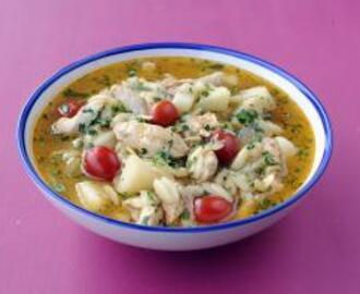 Cuban-Style Chicken Soup