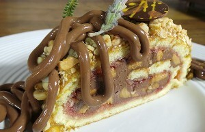 Resep Kue: Chocolate Peanut Butter Cake