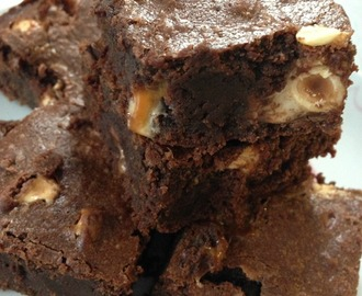 FULL CHOCOLAT – Brownie aux Nuts… tout simplement addictif