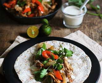 Easy Chicken Fajita and My Busy Weekend