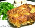 Parmesan and Garlic Crusted Pork Chops