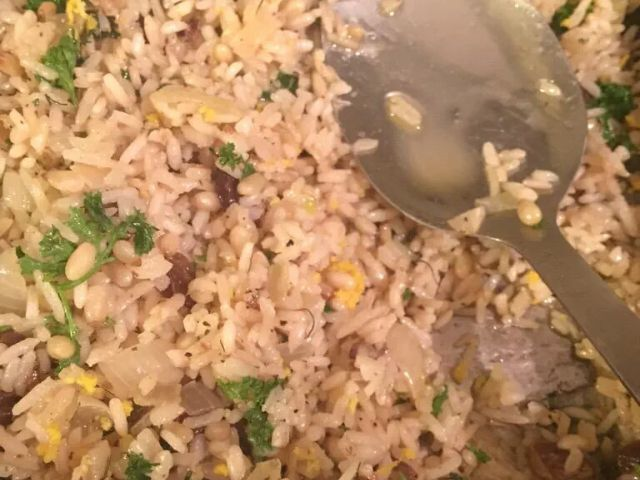 Savoury Lemon Rice