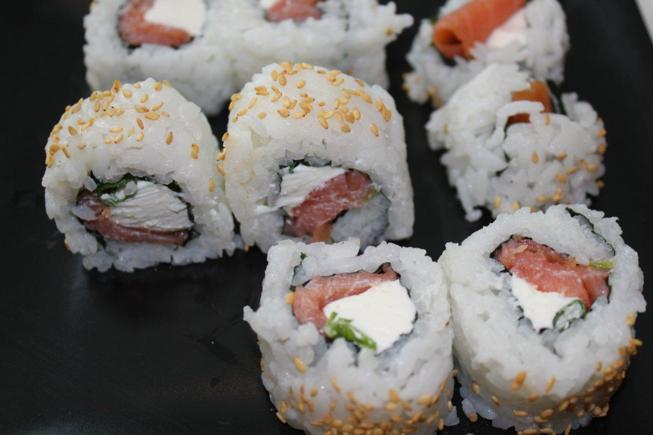 Springbok sushi rolls – Rugby World Cup 2015