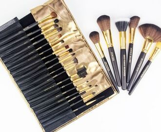 24 Piece Copper Pro Makeup Tool Kit only $29.99 Shipped!