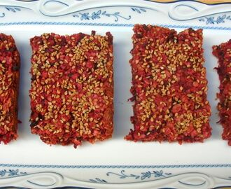 Autumn Harvest Treat: Beetroot Flapjacks