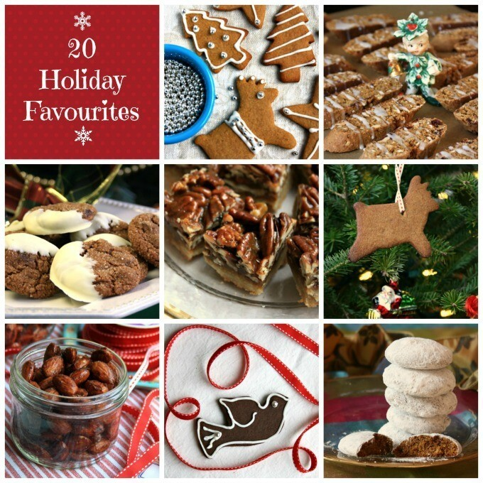 Free Holiday eBook: 20 Recipes For Holiday Cookies and Treats