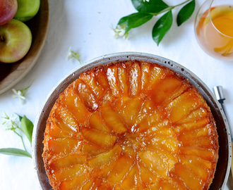 dianne wrote a new post, Cognac Apple cake, on the site bibbyskitchenat36.com