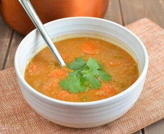 Syn Free Spicy Carrot and Lentil Soup