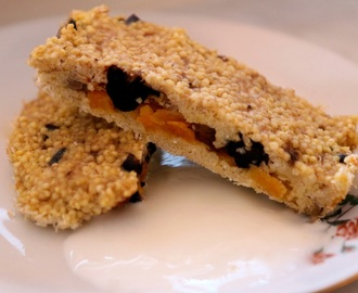 Millet Banana and Prunes Bars