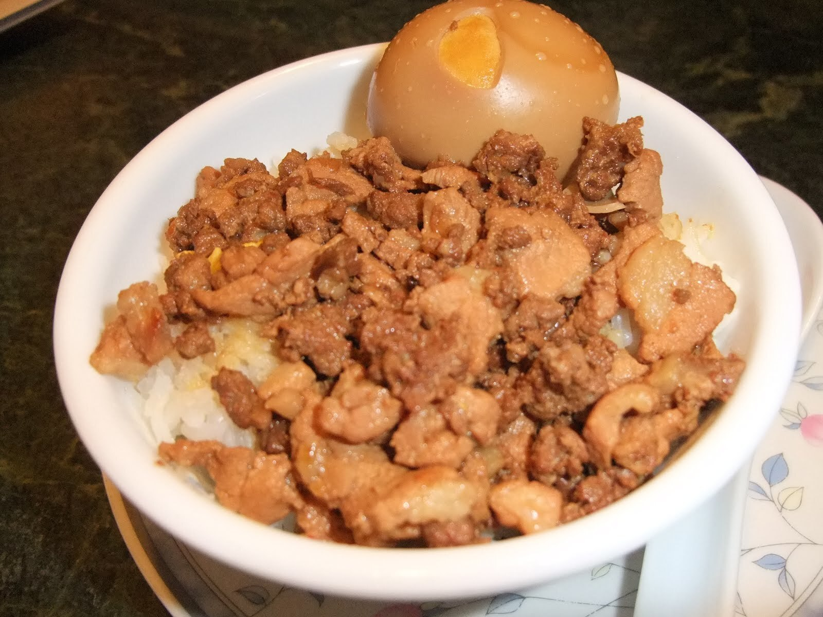 Taiwan Style Braised meat rice  (台湾肉燥饭)